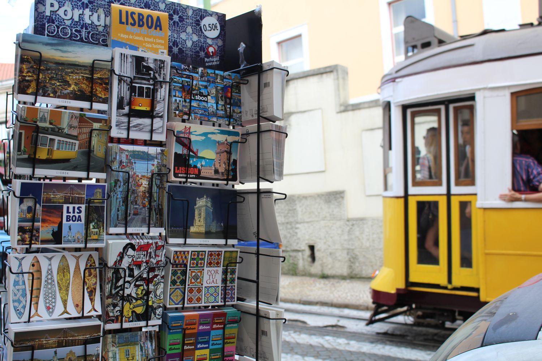Lissabon Postkarten