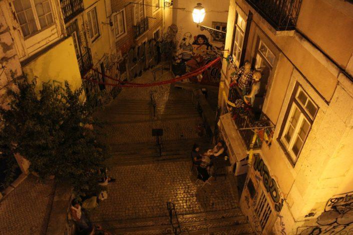Lissabon bei Nacht
