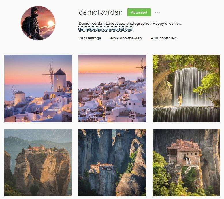 Daniel Kordan Instagram Reiseblogger