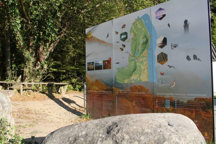 Wanderkarte Nationalpark Stenshuvud