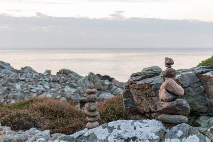 Steintürme bei Hovs Hallar