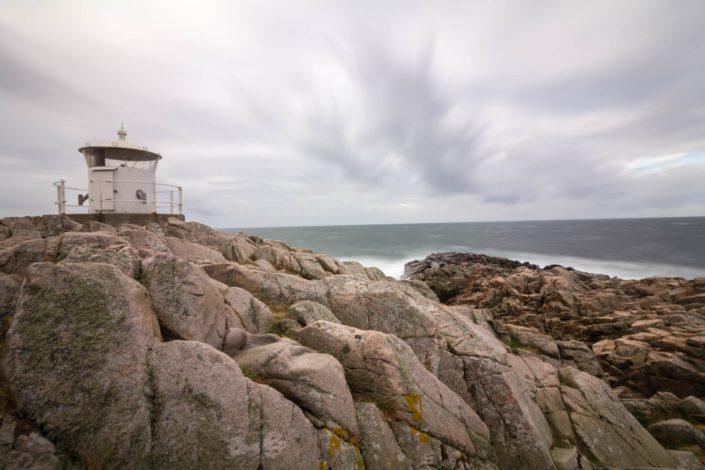 Sturm im Kullaberg Naturreservat