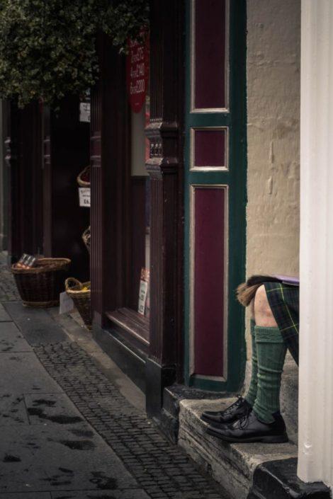 Schotte in Edinburgh