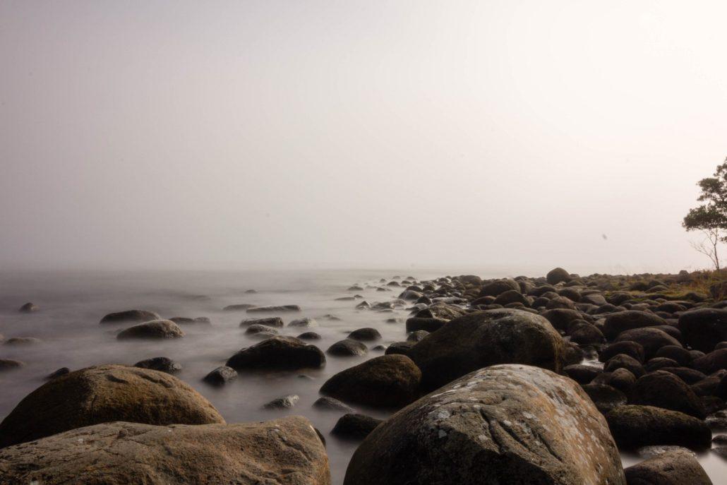 Steinküste im Nationalpark Stenshuvud