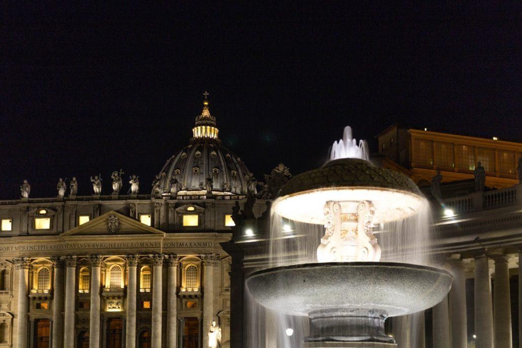 Rom bei Nacht