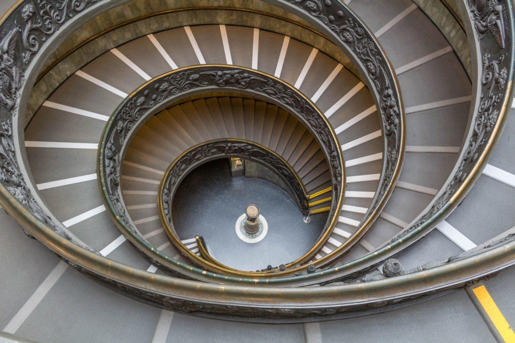 Treppe Vatinakische Museen