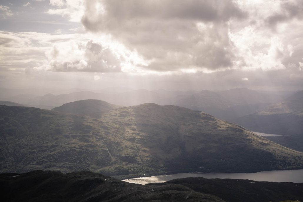 Scotland from above