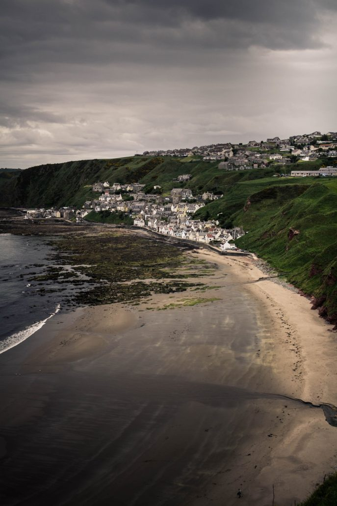 Crovie an der Ostküste Schottlands