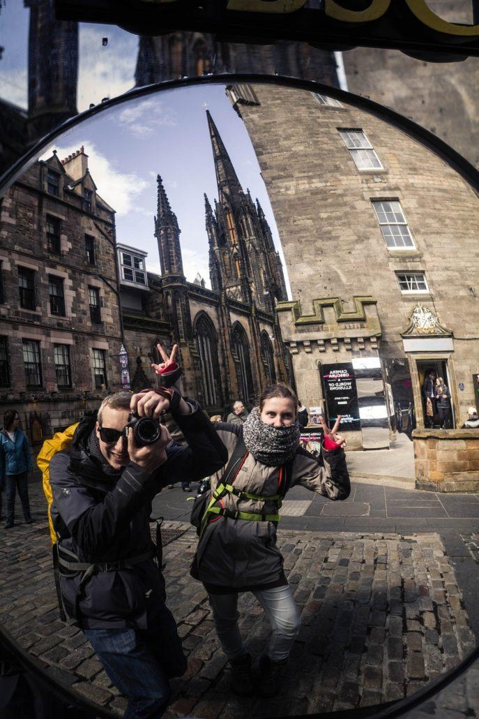 Spiegel in Edinburgh
