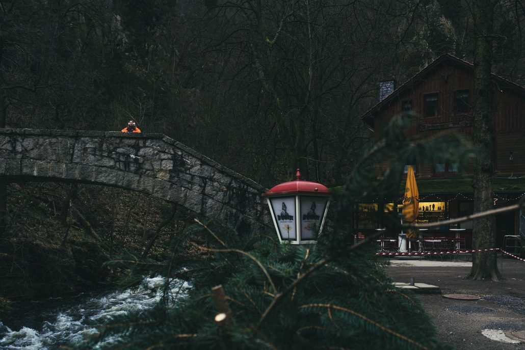 Harz im Winter Bodetal