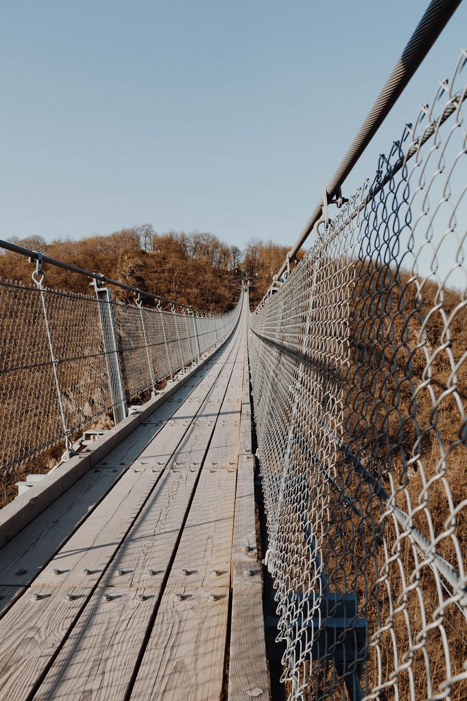 Hängeseilbrücke Geierley Roadtrip Deutschland