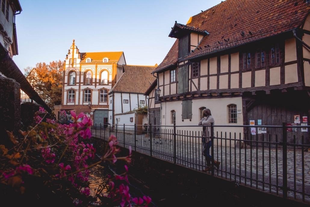 Morgens in Quedlinburg
