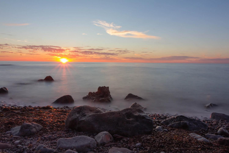 Sonnenuntergang im Port de Valldemossa