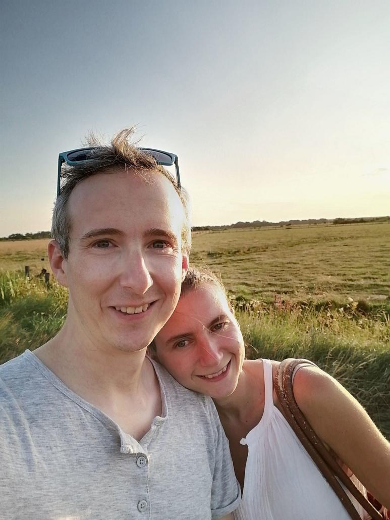Sommerabend in der Hammeniederung in Worpswede