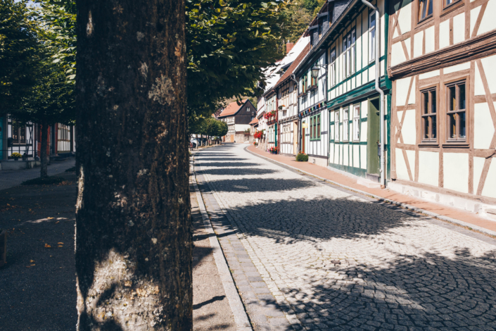 Allee in Stolberg im Harz