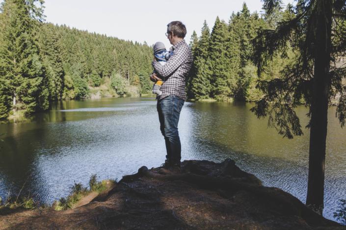 Ausblick auf den Grumbacher Teich